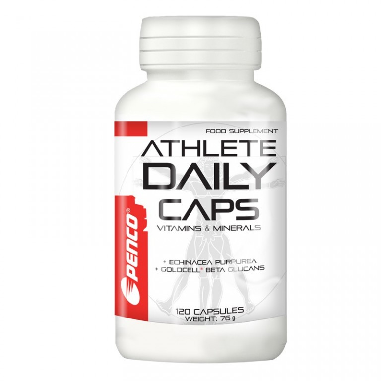 Multivitamin & mineral  ATHLETE DAILY CAPS   120 capsules