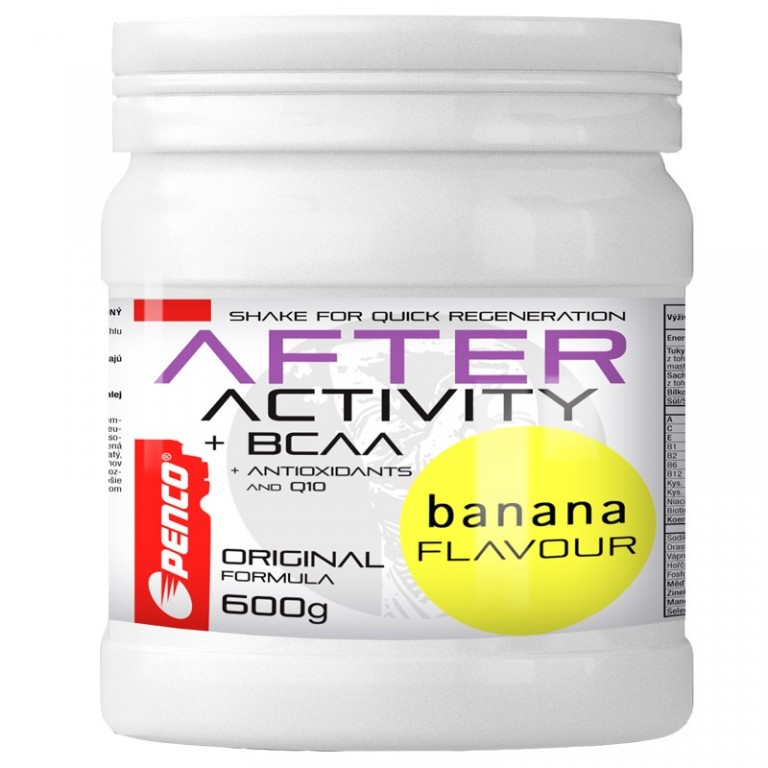 Recovery drink   AFTER ACTIVITY 600g   Banana