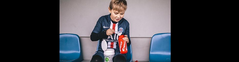Electrolyte drink for kids   JUNIOR SPORT DRINK 700g   Lemon č.2