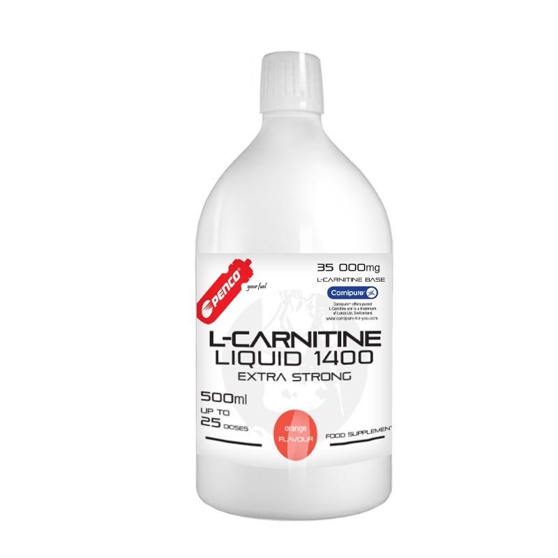Liquid fat burner   L- KARNITIN LIQUID 500ml   Orange č.1