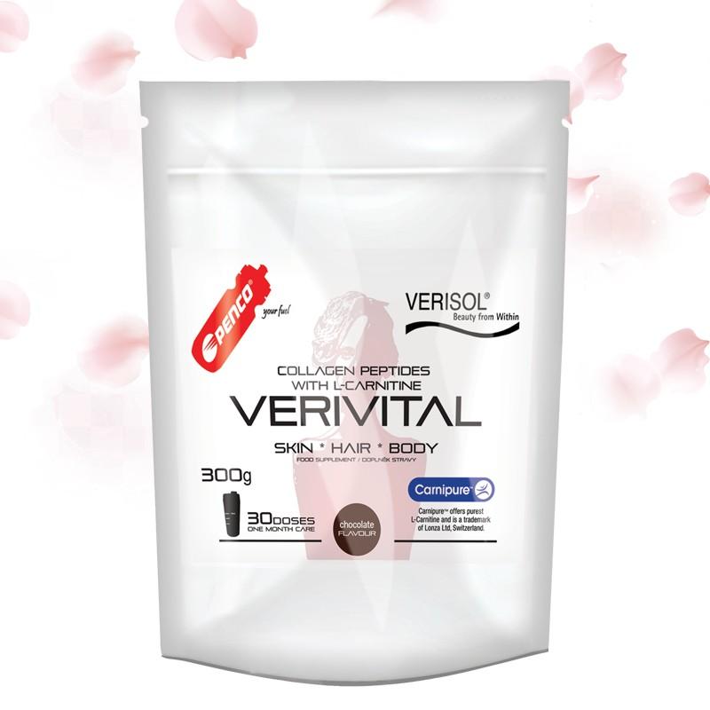 Collagen peptides  VERIVITAL 300g   Chocolate č.1