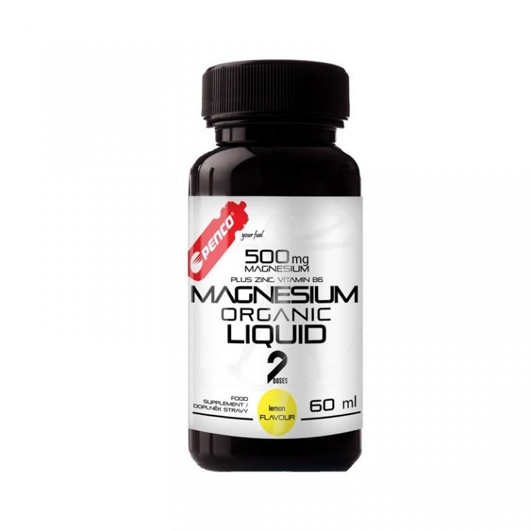 Magnesium in liquid form  MAGNESIUM ORGANIC LIQUID  60ML