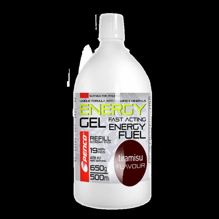 Energy gel  ENERGY GEL REFILL 500ml   Tiramisu