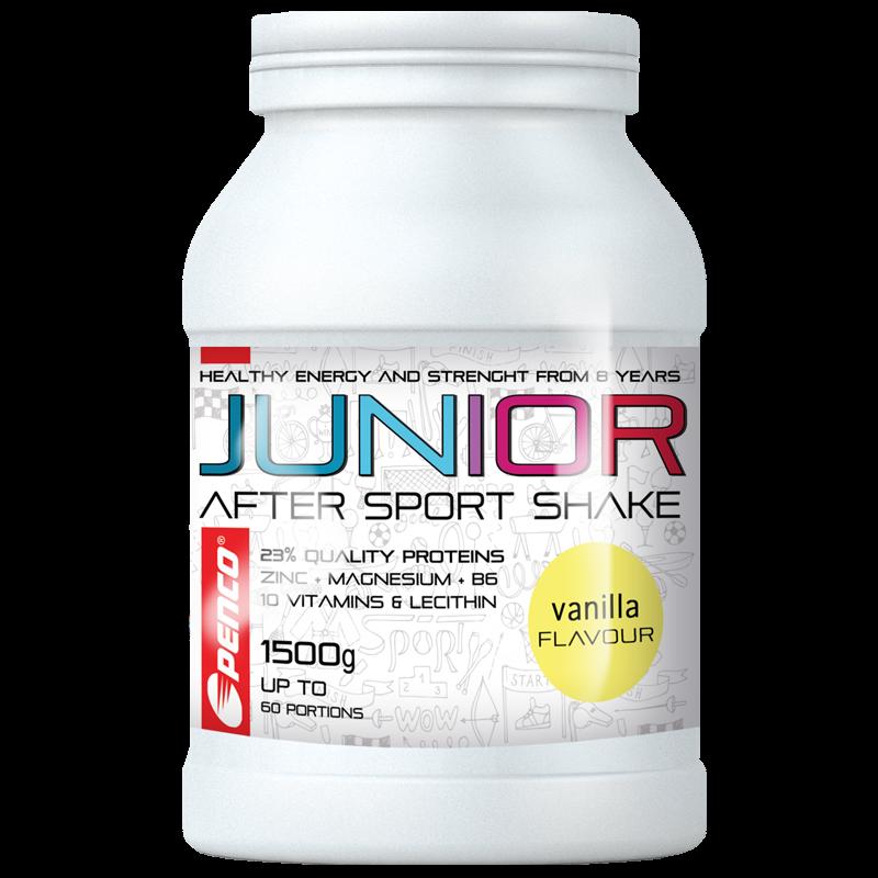 Recovery drink for juniors  JUNIOR AFTER SPORT SHAKE 1500g  Vanilla č.1