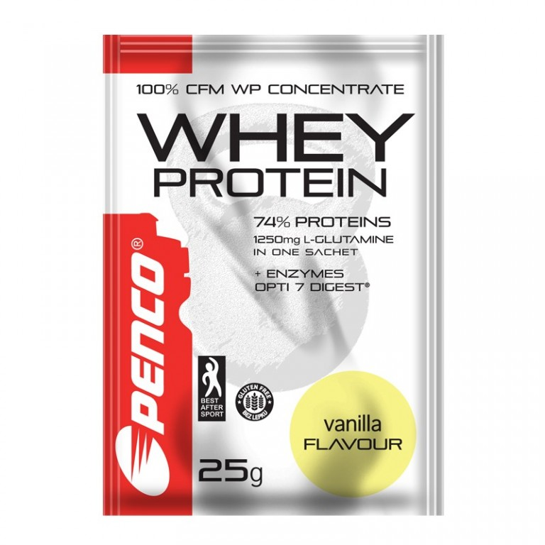 Protein powder  WHEY PROTEIN sachet 25g  Vanilla
