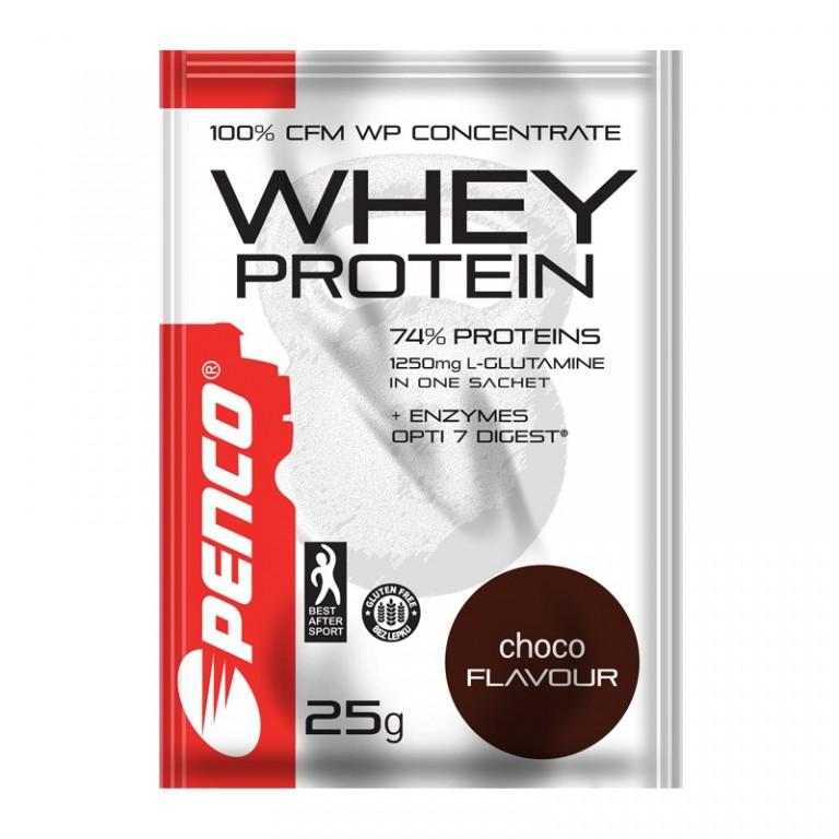 Protein powder  WHEY PROTEIN sachet 25g  Chocolate