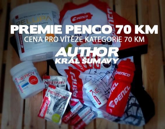 PRÉMIE PENCO KRÁL ŠUMAVY 70 KM