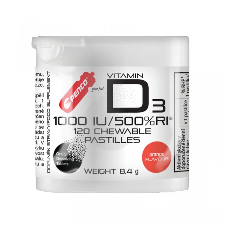 Vitamín  VITAMÍN D3  120 pastiliek na cmúľanie