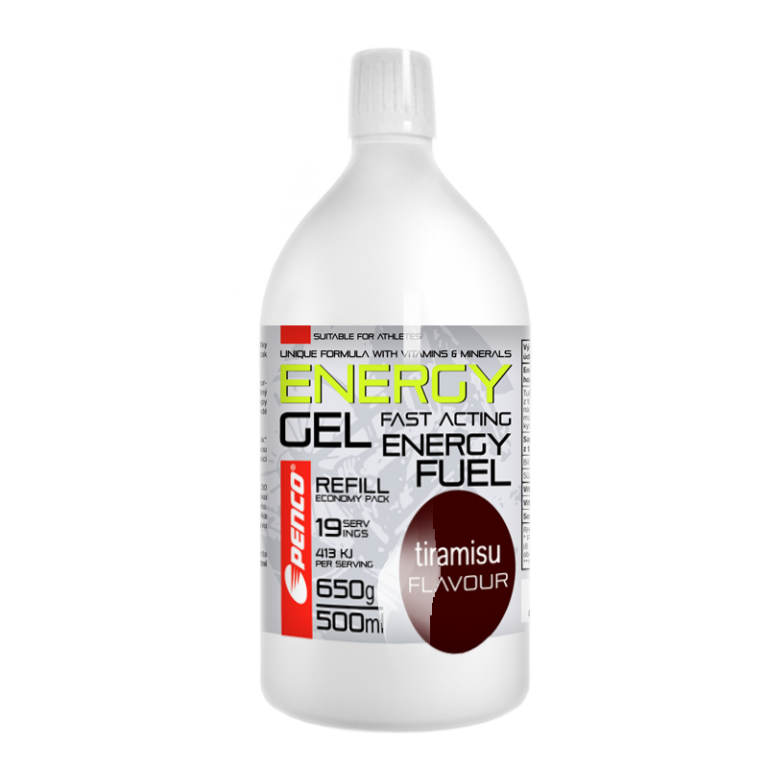 Energetický gel  ENERGY GEL 500ml   Tiramisu