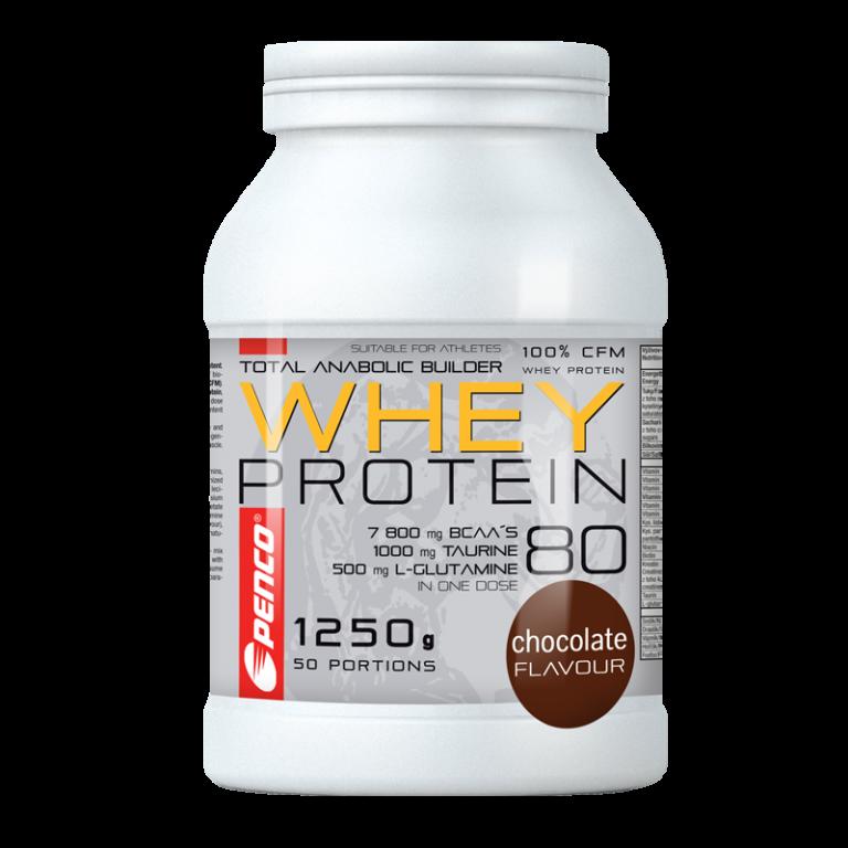 Proteinový nápoj  WHEY PROTEIN 80  Čokoláda