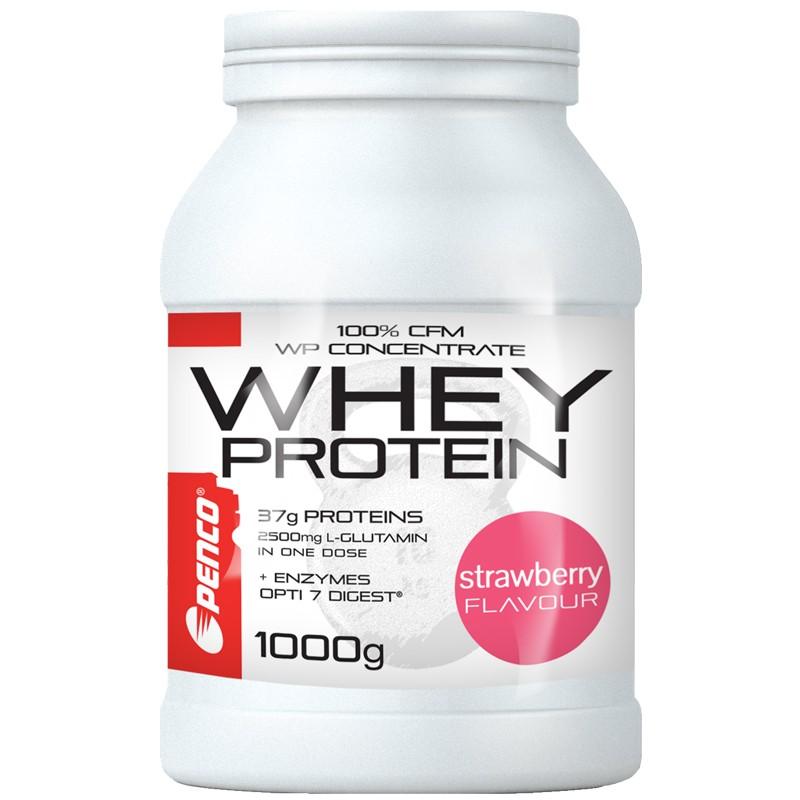 Proteinový nápoj  WHEY PROTEIN  Jahoda č.1