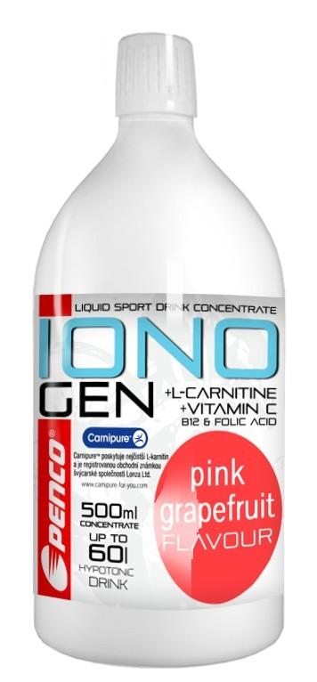 Iontový nápoj  IONOGEN 500ml  Růžový grep