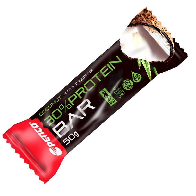 Proteinová tyčinka   PROTEIN BAR 50g   Kokos v pravé čokoládě č.1