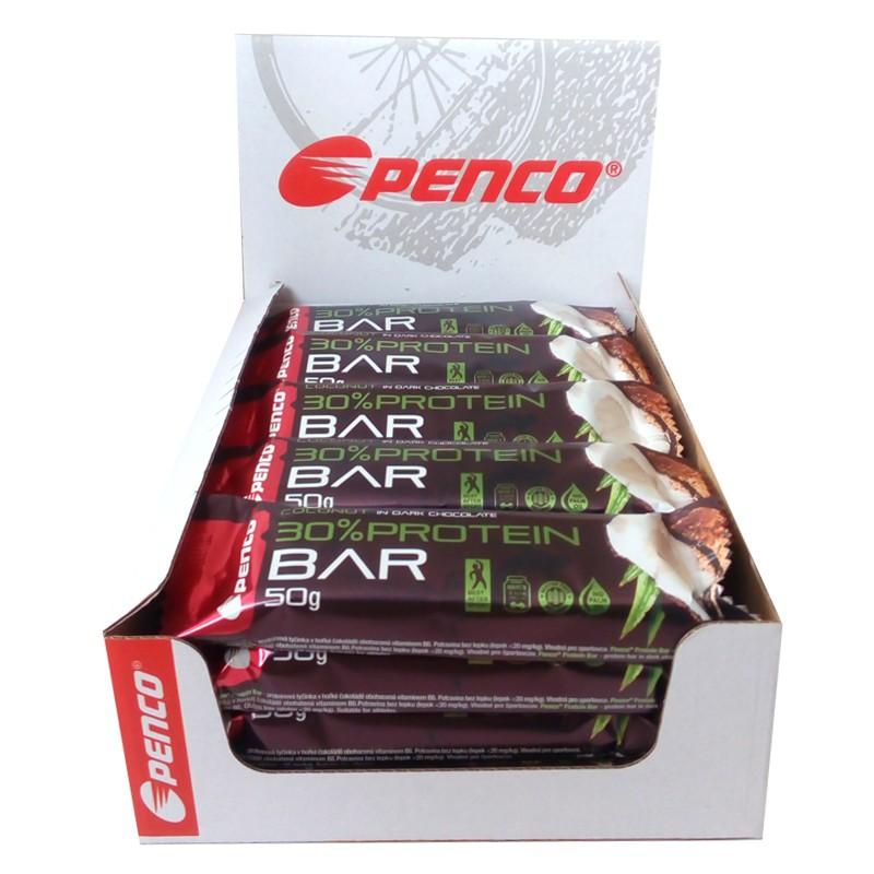 Proteinová tyčinka   PROTEIN BAR 50g   Kokos v pravé čokoládě č.2