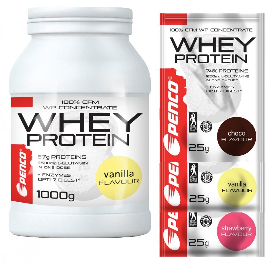 AKCE Proteinový nápoj  WHEY PROTEIN  Vanilka č.1