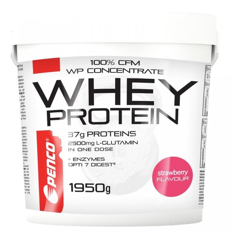 Proteinový nápoj  WHEY PROTEIN 1950g  Jahoda