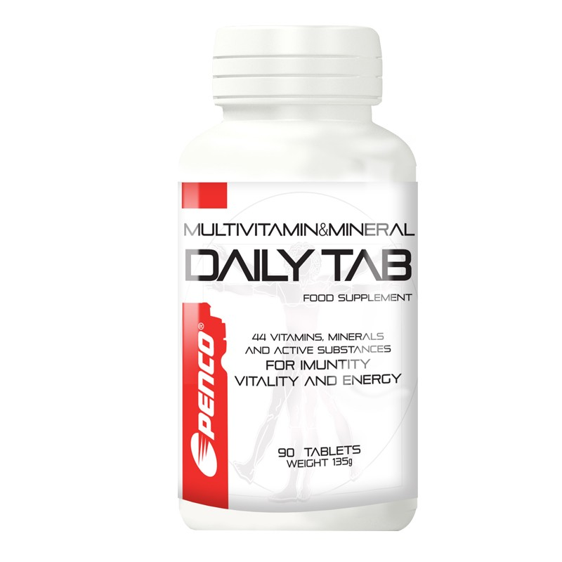Multivitamin s minerály  DAILY TAB 44  90 tablet č.1
