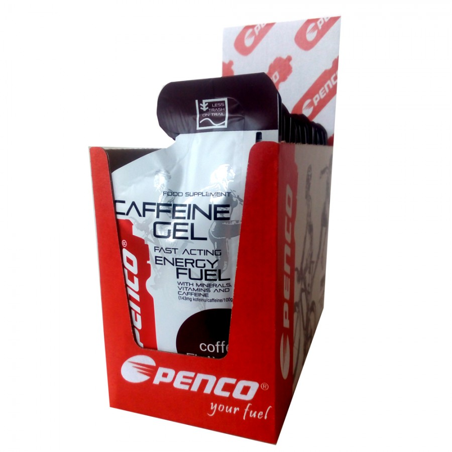 Energetický gel  Penco CAFFEINE GEL 35g   Káva č.3