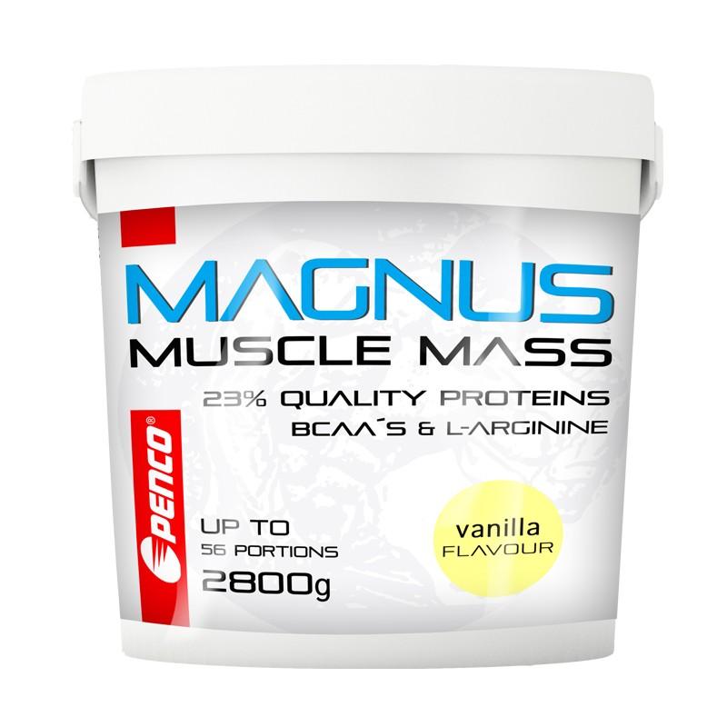 Gainer  MAGNUS 2800g   Vanilka č.1