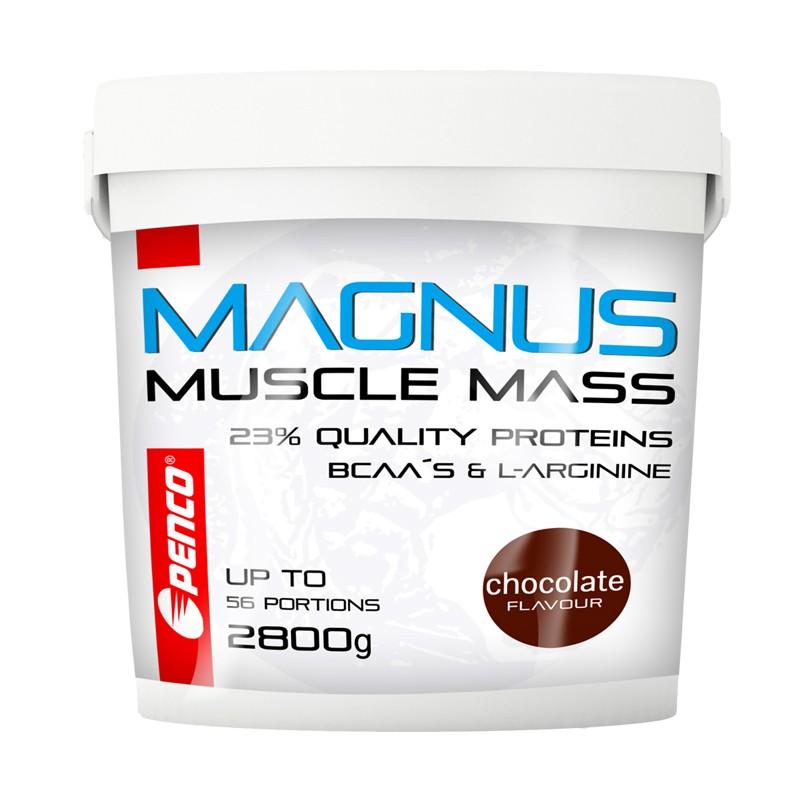 Gainer  MAGNUS 2800g  Čokoláda č.1