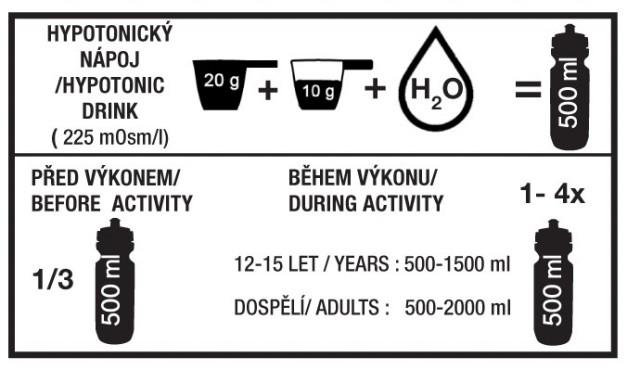 mineral drink návod