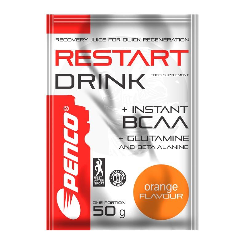 Regenerační nápoj  RESTART DRINK 700g  Pomeranč č.3