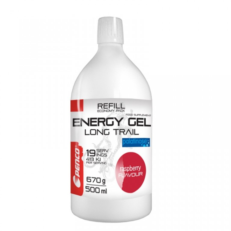 Energetický gel   LONG TRAIL REFILL + SOFT FLASK   Malina č.3