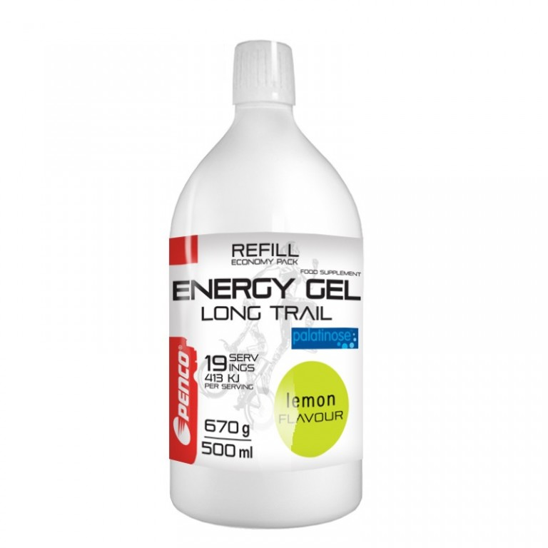 Energetický gel   LONG TRAIL REFILL   Citron + Penco Soft Flask 150ml č.3