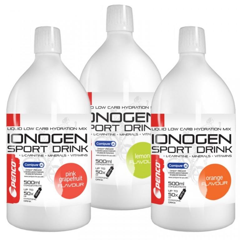 Iontový nápoj  IONOGEN 500ml  Různé příchutě