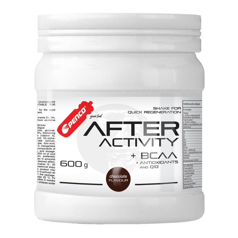 Regenerační nápoj   AFTER ACTIVITY   Čokoláda č.2