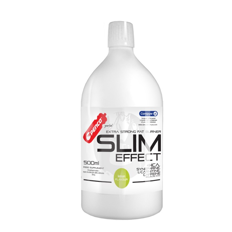 Spalovač tuků  SLIM EFFECT 500ml  Citron č.1