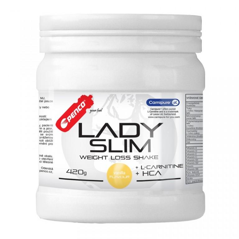 Koktejl na hubnutí  LADY SLIM 420G   Vanilka