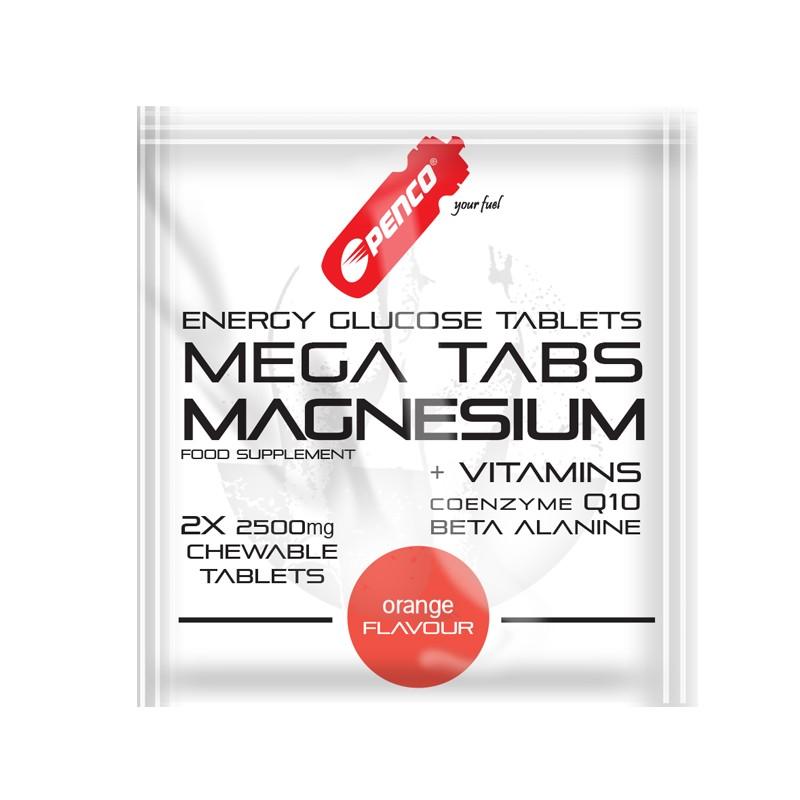 Hořčíkové tablety  MEGA TABS MAGNESIUM  2 ks cucavá tableta č.1