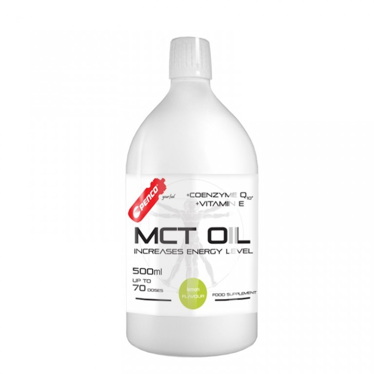 Rychlý zdroj energie  MCT OIL 500ml  Citron č.1