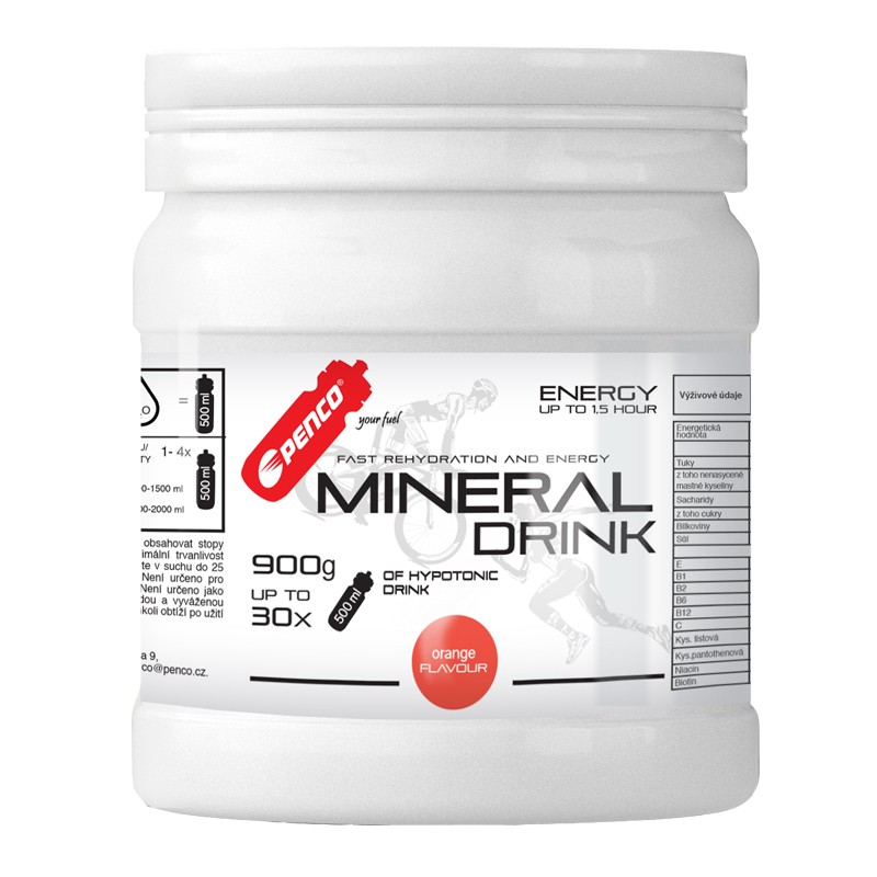 Iontový nápoj  MINERAL DRINK  Pomeranč č.1
