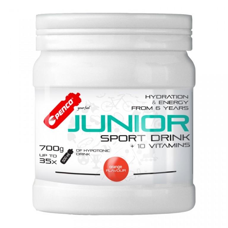 Iontový nápoj pro děti   JUNIOR SPORT DRINK 700g   Pomeranč č.1