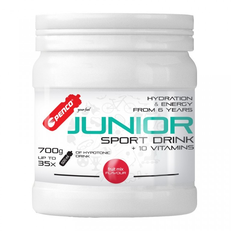 Iontový nápoj pro děti   JUNIOR SPORT DRINK 700g   Fruit Mix