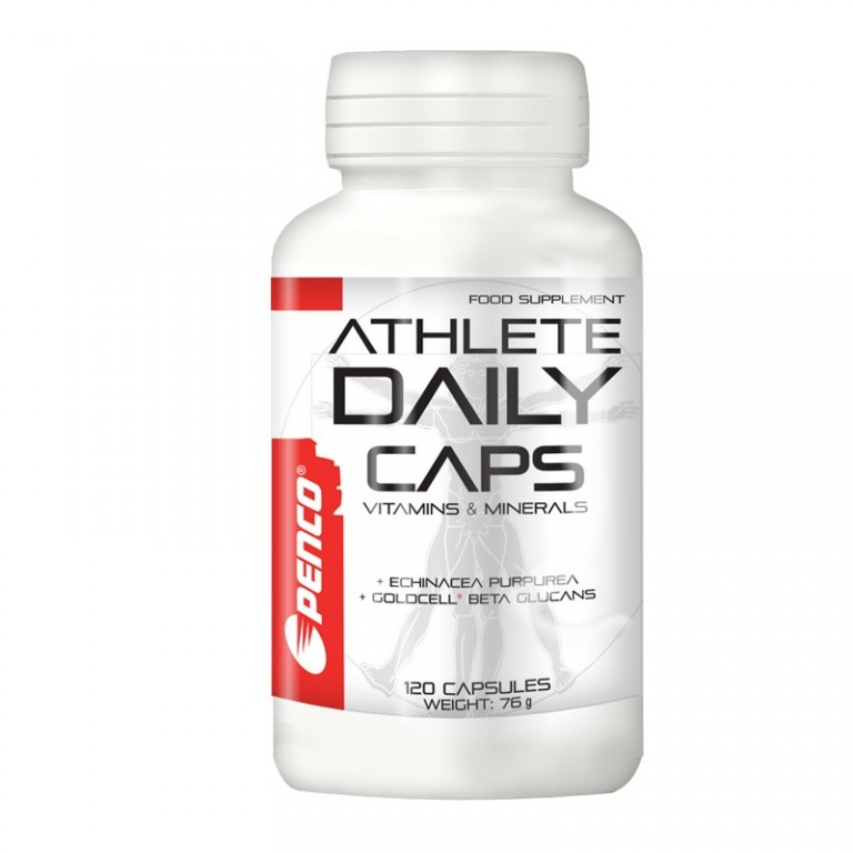 Multivitamin s minerály  ATHLETE DAILY CAPS   120 tobolek