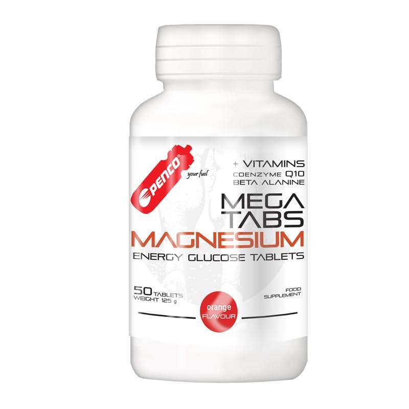 Hořčíkové tablety  MEGA TABS MAGNESIUM  50 cucavých tablet č.1