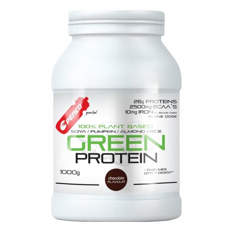 Proteinový nápoj  GREEN PROTEIN 1000g  Tmavá čokoláda