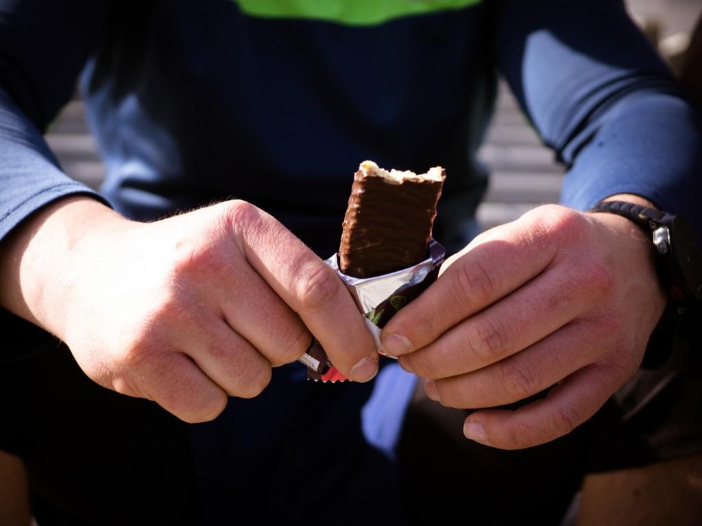Proteinová tyčinka   PROTEIN BAR 50g   Jahoda v pravé čokoládě č.5
