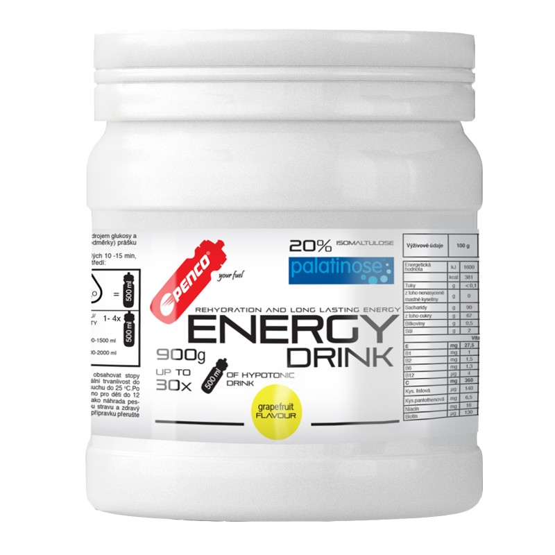 Iontový nápoj  ENERGY DRINK 900g  Grapefruit č.1