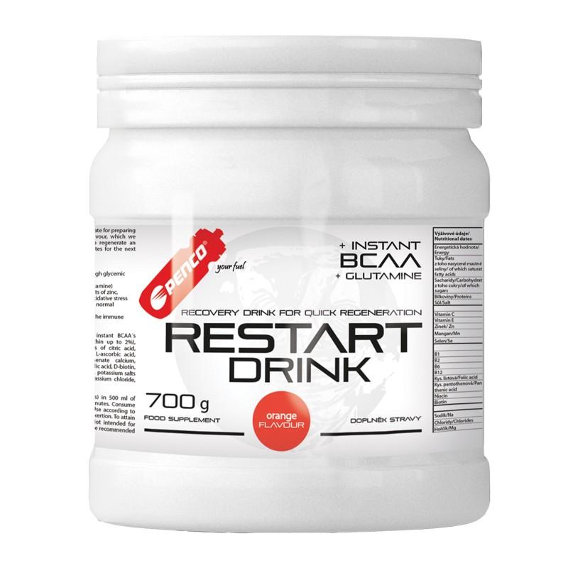 Regenerační nápoj  RESTART DRINK 700g  Pomeranč č.1