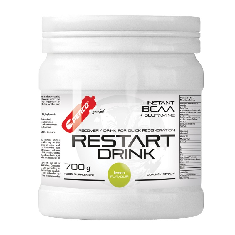 Regenerační nápoj  RESTART DRINK 700g   Citron č.1
